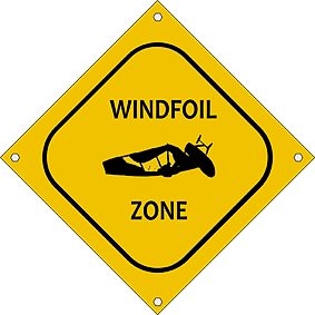 Wind Foil Zone Logo